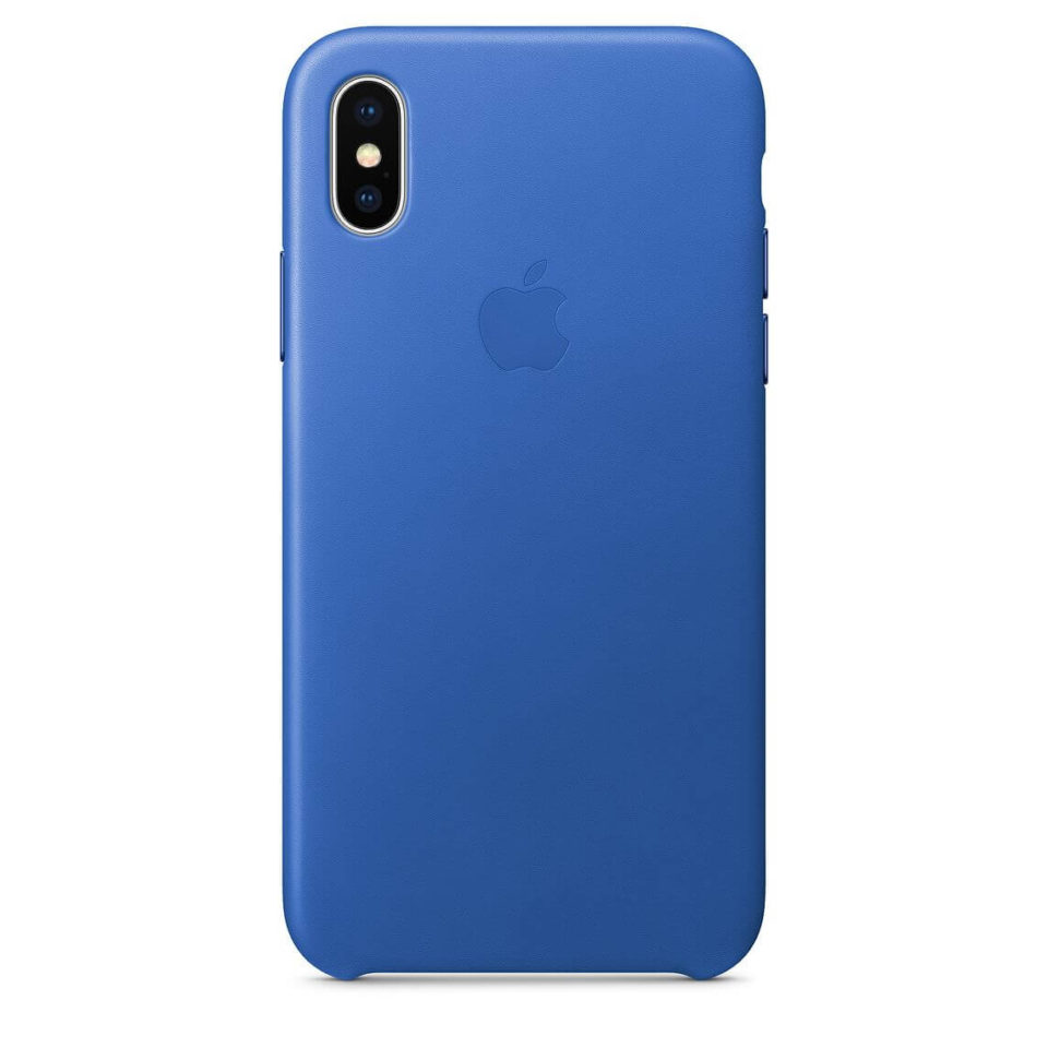 sports shoes 53a23 8479f iPhone X Leather Case